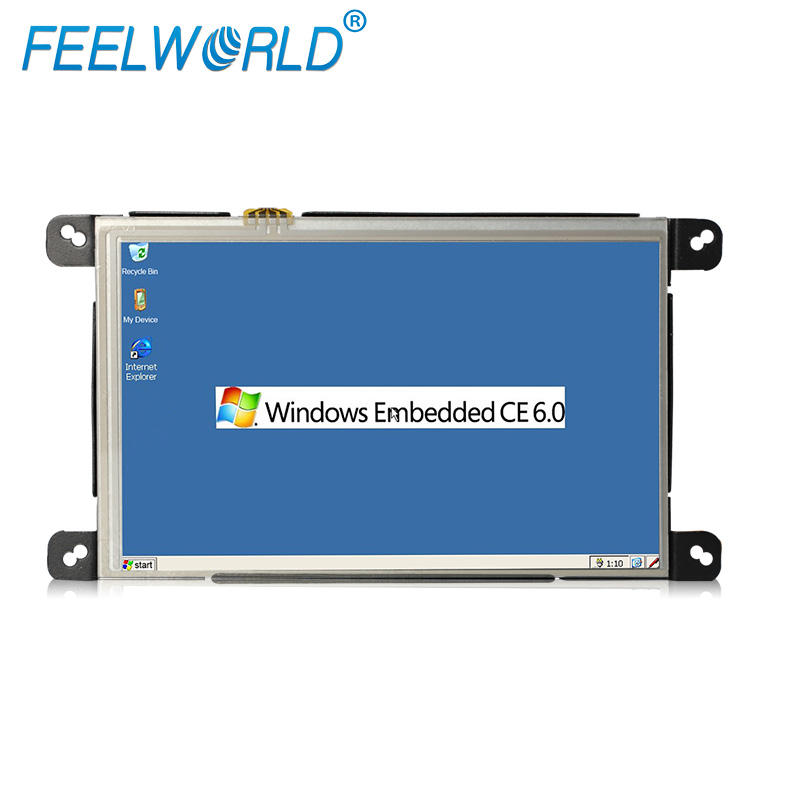 Industrial integrado taxi tablet pc abierta Panel WinCE 6,0 Linux con puerto Lan RJ45... RS232 pantalla táctil 3G/WIFI/Bluetooth/GPS
