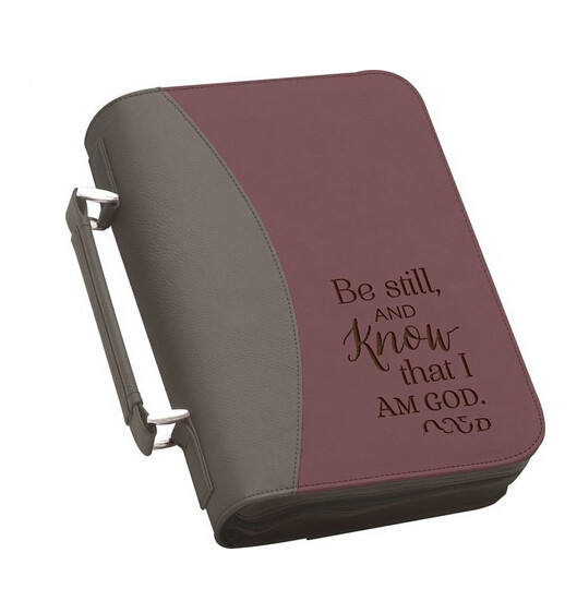 Boshiho Bible Cover Case with Zipper