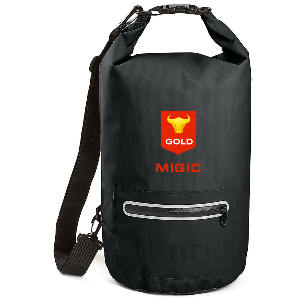 Customized 10L 20L Logo Ultralight Waterproof Dry Sack Bag Thailand Transparent Ocean Pack Cleaning Dry Bag