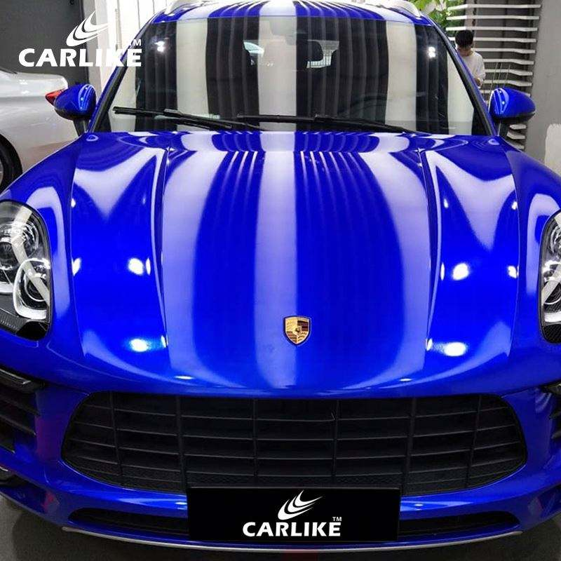 CARLIKE Short Time Delivery Super Gloss Anti Scratch Air Bubble Free Car Wrap Vinyl Sticker