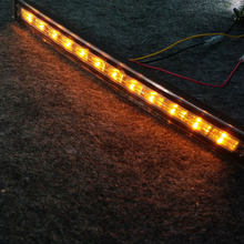 2pcs 24 led car truck daytime running light led drl turn signal light