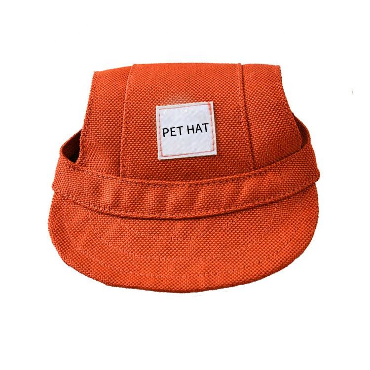 Eco-Friendly Summer Cute Print Baseball Outdoor Pet Dog Hat
