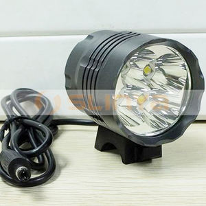 4800LM Cree 4 LED BiCycle Light Bike Headlight with Metal Clip Head Front Bar