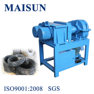 Recycling waste tire bead wire separating machine