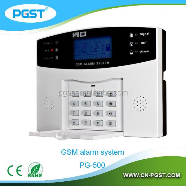 Беспроводная GSM умный дом охранная охранной безопасности сигнализация, CE RoHS