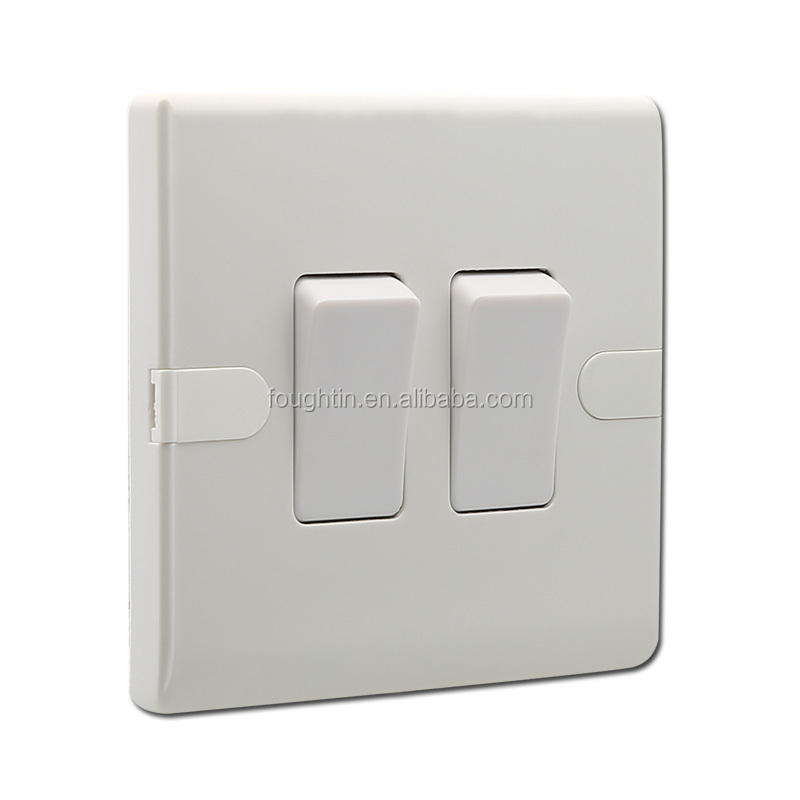 2 gang 2 way bakelite gang switch electrical wall switch