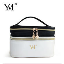 cheap price high fashion handmade pvc leather makeup cosmetic make up zipper pouch bag women bags handbag