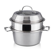 Non electric rice cooker and steamer stainless steel steamer cooker