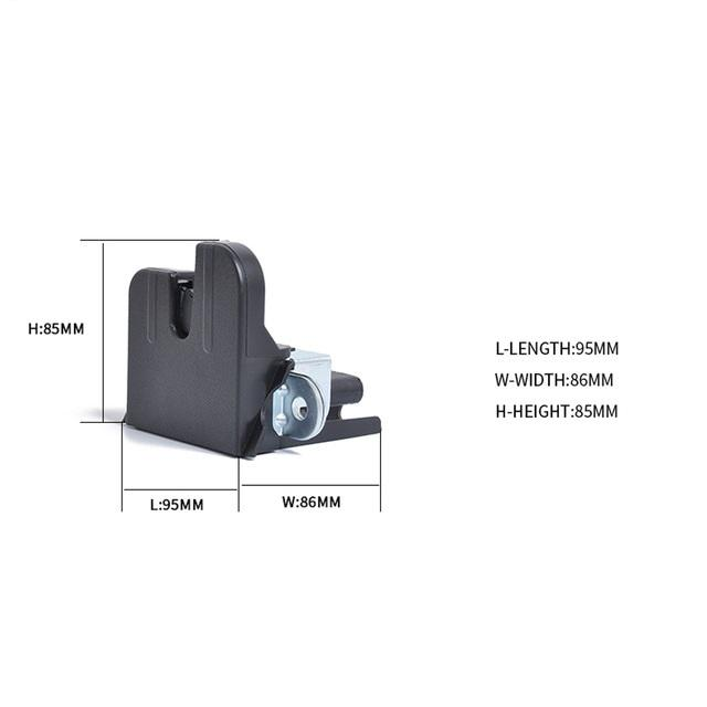 1K6827505E Hatchback Closing Lock Removal Tailgate Boot Latch Lock Trunk 5K0827505A 9B9 /1T0827505H 9B9 For Germany Car