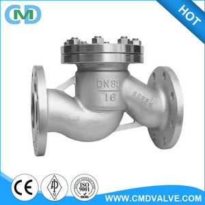 Cast Steel DN80 PN16 Lift Type Spring Check Valve for Pipe Fuel Oil