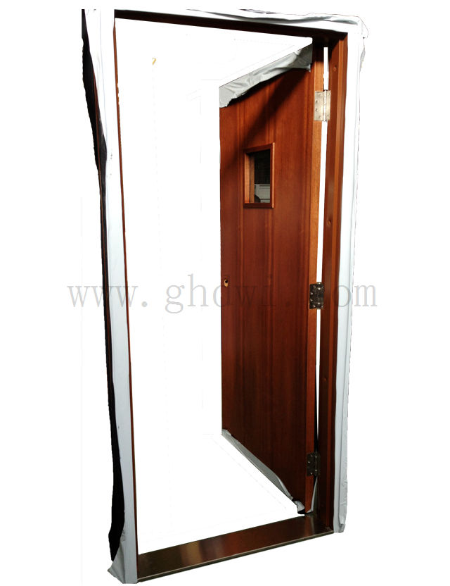 Solid Wood Exterior Door Teak Wood