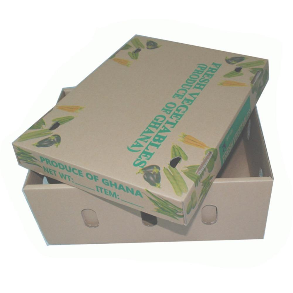 Wholesale tomato box fruit carton box vegetable packaging box