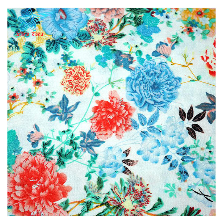 high quality elegance flower 3% elastane cotton prints plain pattern african fabric