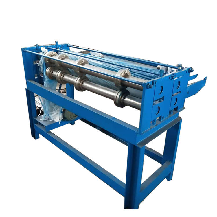 simple steel metal sheet coil slitting/slitter machine price
