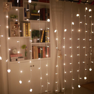 2.5* 2M LED Wedding fairy Light christmas garland LED Curtain string Light outdoor new year Birthday Party Garden Decoration