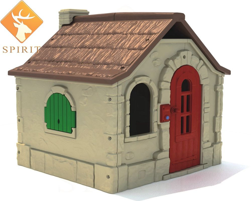 TUV Approved Commercial Factory price children plastic garden house for baby
