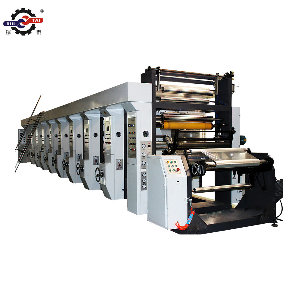 ARC system Good quality roto gravure printing machine