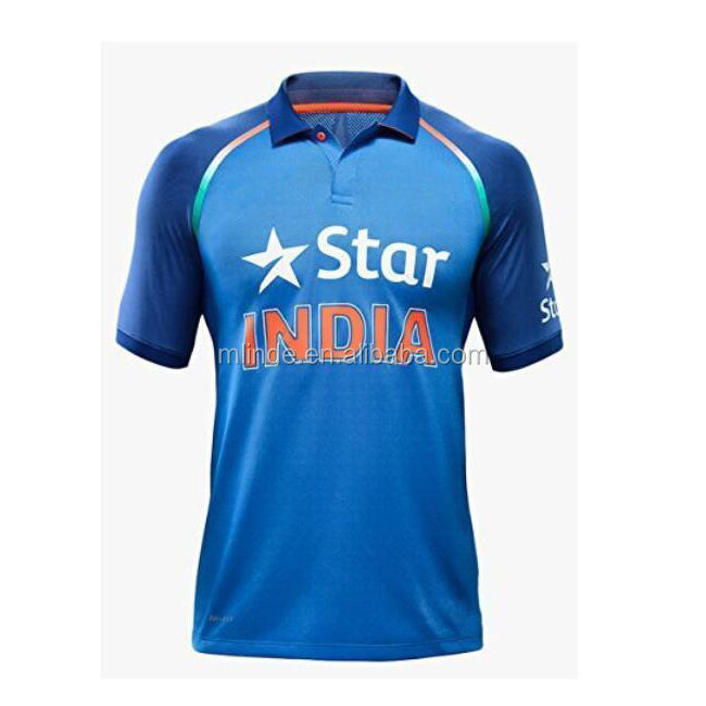 Personalizado <span class=keywords><strong>Cricket</strong></span> Jersey Super Macio Malha Camisa Da Equipe <span class=keywords><strong>de</strong></span> Críquete Indiano Projeto Compras Online China Fabricantes