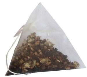 Bolsa de té triangular de nailon vacía con sellado térmico piramidal de alta calidad Biodegradable