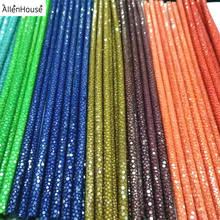 Best selling High End Quality Exotic Rare Leather Cord European Stingray Cord for Designers Stingray Bangles and Wristbands
