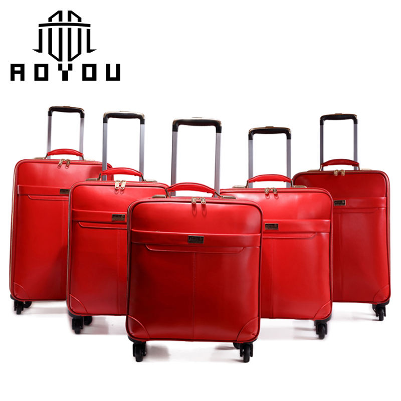 Leather Business Wholesale Luggage 3pcs Sets Softshell Suitcases cowhide leather luggage set
