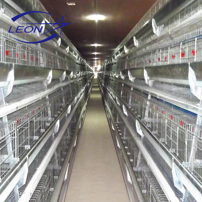 Leon series automatic poultry chicken battery layer cage system for sale