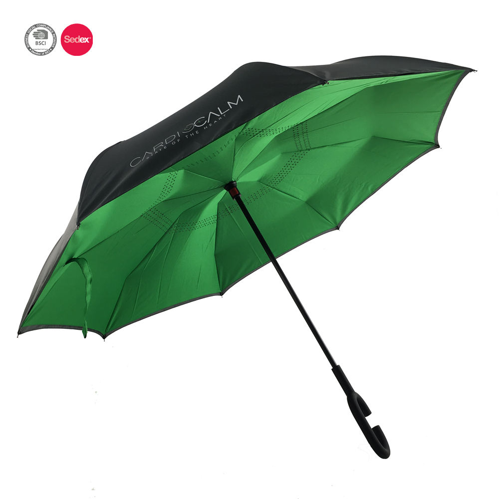 Latest oem reversed unbreakable storm umbrella