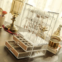 Drawer acrylic storage box  for jewelry storage