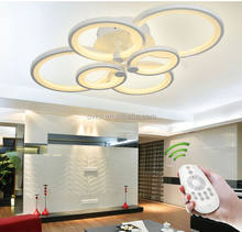 2020 new design home lighting dimmable led chandeliers & pendant lights with remote control