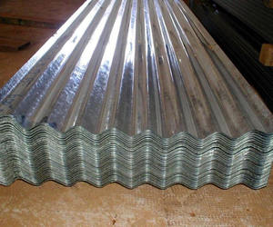 Zinc coating 60g ~ 180g galvanized corrugated sheet for roofing ASTM A653
