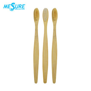 Wholesale Eco Private Label Charcoal Bristles Bamboo Toothbrush
