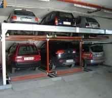 2 level CE&ISO hydraulic garage equipment car parking system rotating