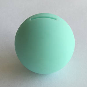 FDA food grade silicone rubber ball with hole