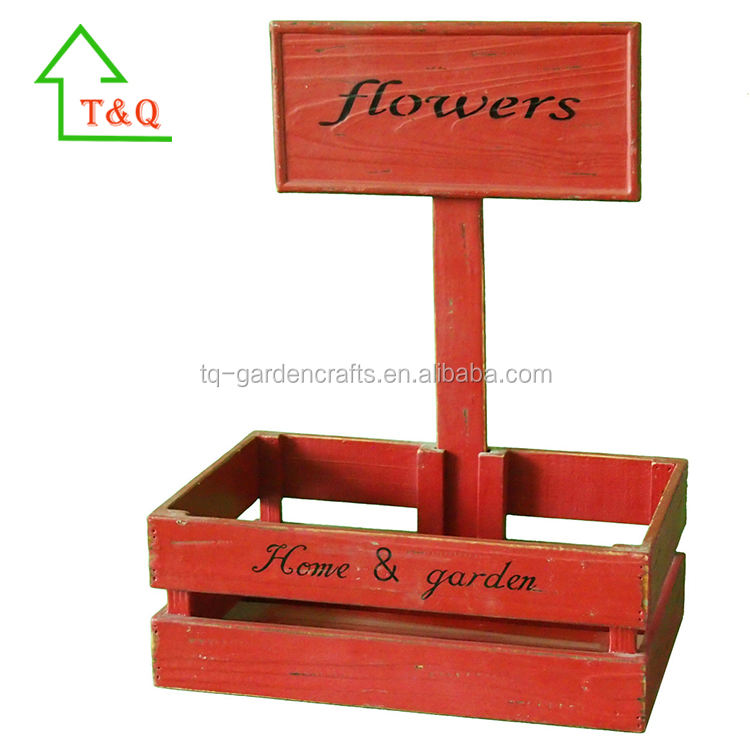 Home Garden Decoration Wooden Planter Pot Rack,Flower Pots Rack
