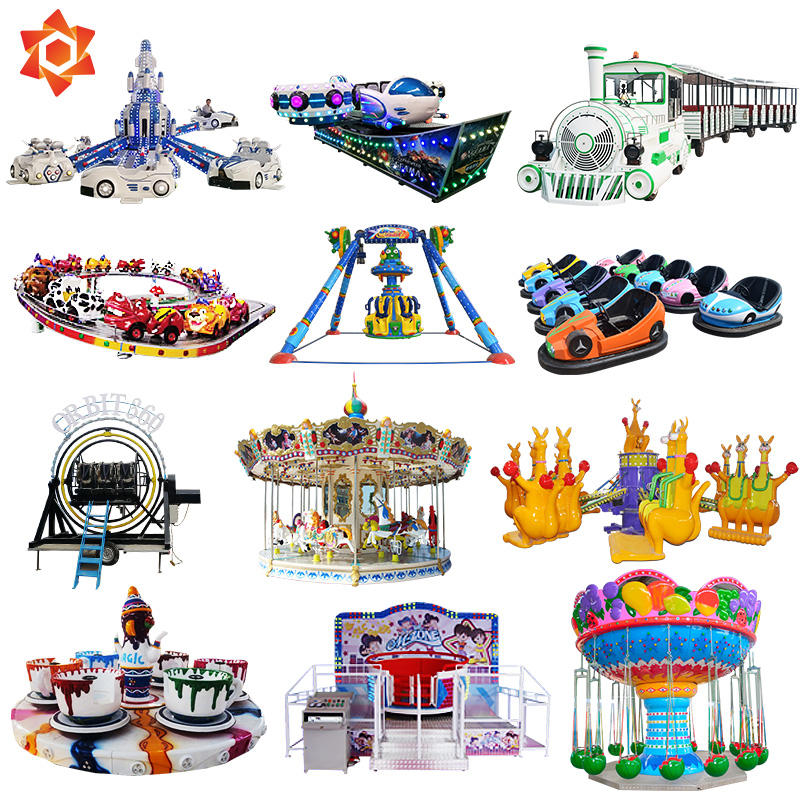 Amusement luna park rides entertainment used carnival adventure equipment used kiddie rides theme park equipment sale