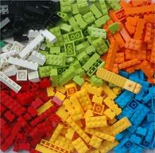 Competitive Price 1000pcs Building Plastic Blocks and Bricks Compatible DIY Bulk Block Wall Toy