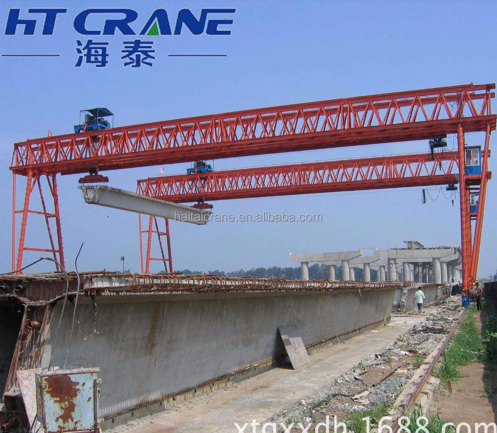 bridge launching gantry crane construction machinery for highway