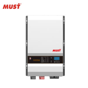 MUST PV35 Off gird Pure sine wave invert 8kw 10kw 12kw 48v hybrid solar inverter with MPPT 80A charger for solar power system