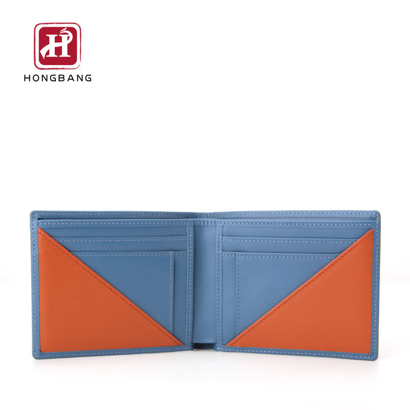 EURO Men's Wallet Amazon Seller Slim Bifold Rfid Wallet Card Wallet