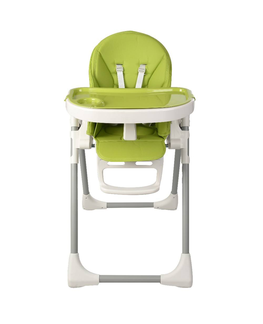 EN14988 approved manufacturer popular new color option plastic baby high chair