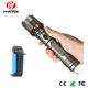 Industrial Factory Wholesale Directly Zoomable Military Self Defense Tactical Torch Led Flashlight