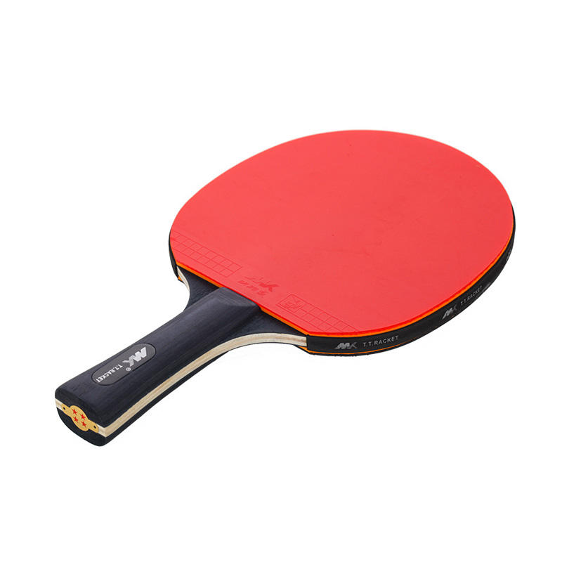 Fabriek Aangepaste 4 Star Carbon Paddle <span class=keywords><strong>Racket</strong></span> Tafeltennis <span class=keywords><strong>Racket</strong></span> Professionele voor Ping Pong Paddle Set