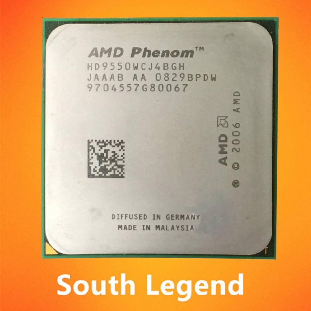 AMD Phenom X4 9550 2.2 GHz Quad-Core CPU Processor HD9550WCJ4BGH Socket AM2+
