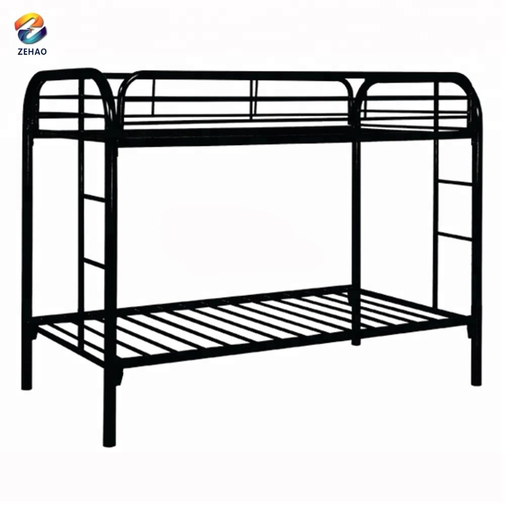 Iron bunk bed custom steel frame iron bed used at prison