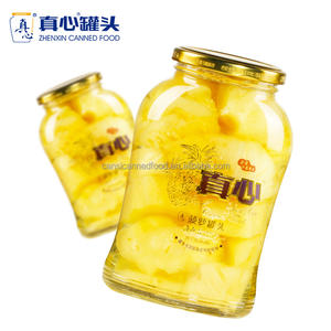High Quality Fresh Pineapple Fruit Dice Canned in Light Syrup 680g