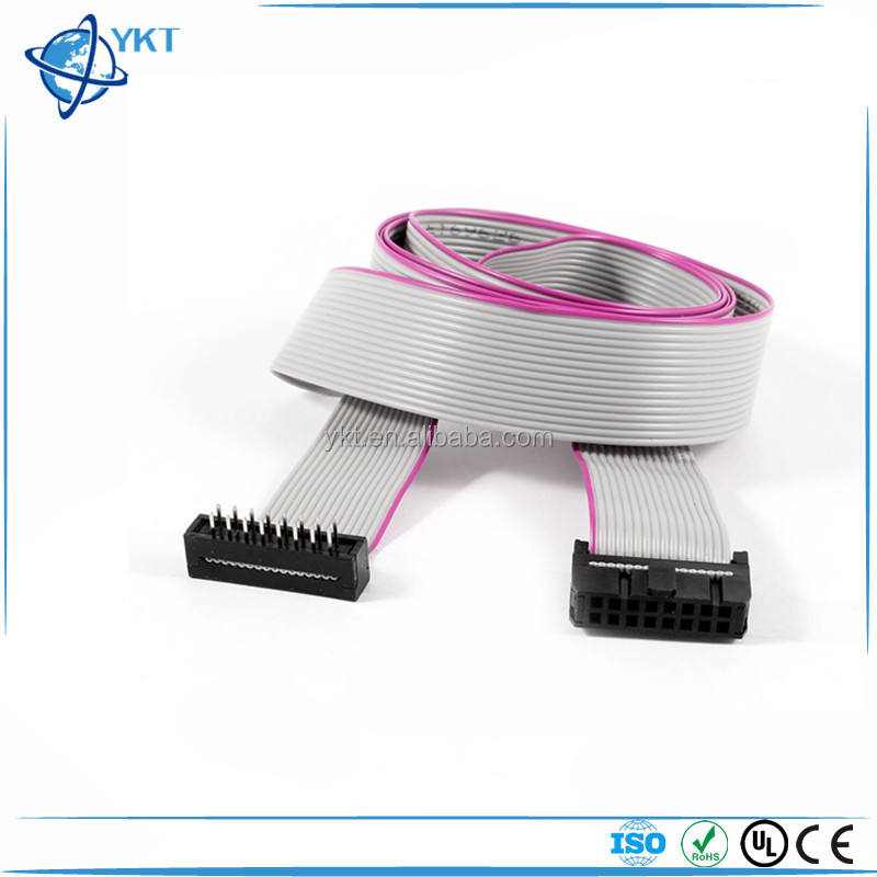 16 Wire 16 Pin Male to Female 2.54mm Pitch IDC Ribbon Cable for ISP JTAG ARM