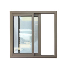 Superhouse aluminium windows and doors aluminium double glass sliding window