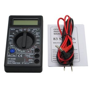 DT830B Digital Multimeter Kit Electronic AC DC Power Tester
