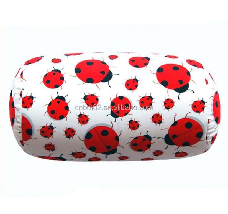 Hot selling lycra fabric tube pillow/tube cushion