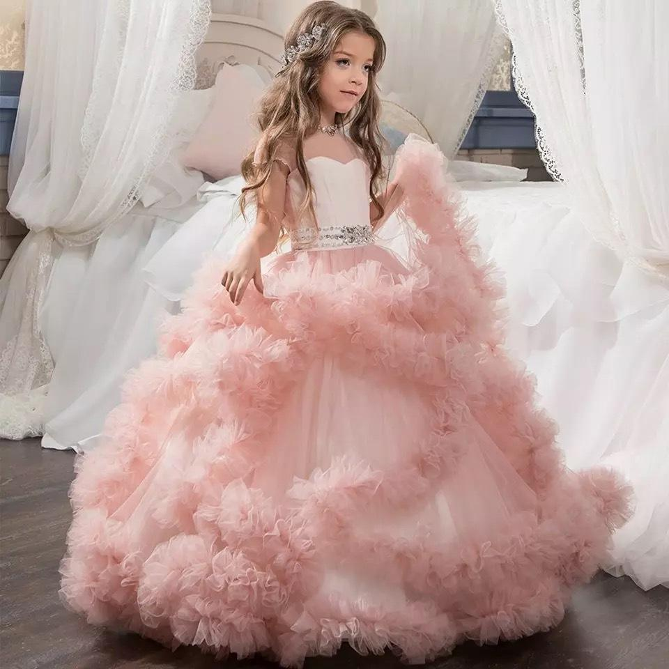 2019 Bayi Gaun Gadis Fashion Wedding Dress Super Acara Wanita Muda Acara Gaun Gradulation Gaun